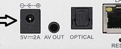 ZAAPTV HD509 Power