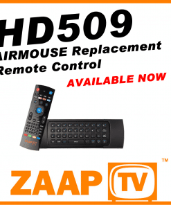 ZAAPTV HD509 Airmouse Remote Control