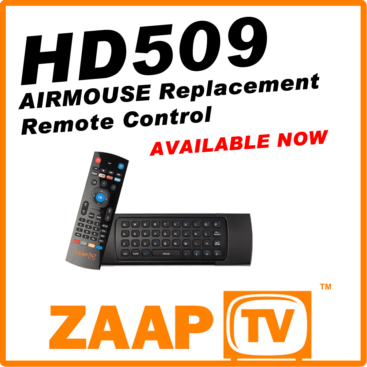 ZaapTV Air Mouse A21 for HD509