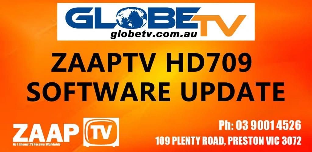 ZAAPTV HD709/HD609/X and MaaxTV LN6000 Software Update Date: 19th February 2019