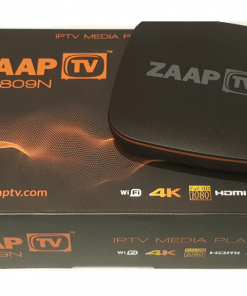 GlobeTV.com.au - ZAAPTV HD809 with 2 Years ARABIC or GREEK